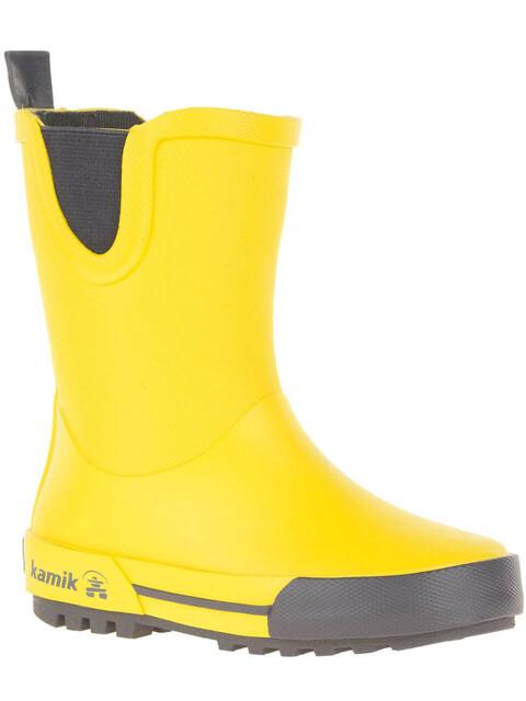 Kamik Rainplay rubberlaarzen Kinderen geel